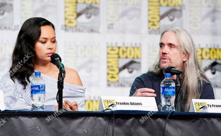 Stock Picture of Frankie Adams and Ty Franck