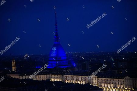 A picture of US astronaut Neil Armstrong walking on the Moon is projected on the Mole Antonelliana of Turin, Italy, 20 July 2019. This event commemorates the 50th anniversary of the Apollo 11 mission to the Moon. Astronauts Neil Armstrong and Edwin 'Buzz' Aldrin landed aboard the Eagle Lunar Module on the Moon on 20 July 1969.