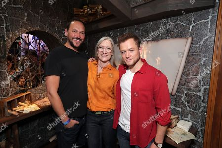 Louis Leterrier, Director/Executive producer, Taron Egerton, Lisa Henson, Executive Producer,