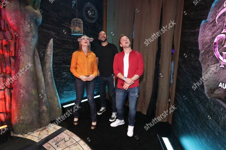 Lisa Henson, Executive Producer, Louis Leterrier, Director/Executive producer, Taron Egerton