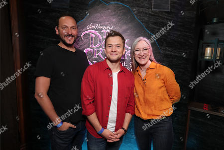 Louis Leterrier, Director/Executive producer, Taron Egerton, Lisa Henson, Executive Producer
