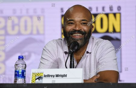 "Jeffrey Wright attends the ""Westworld"" season 3 panel on day three of Comic-Con International, in San Diego"