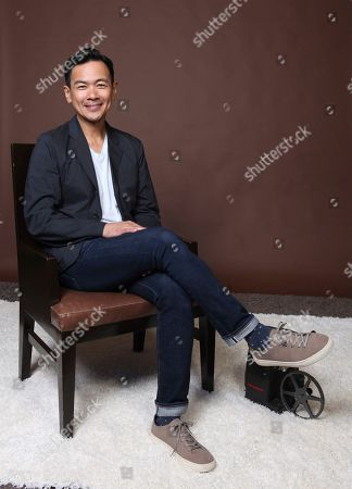 "Joel de la Fuente poses for a portrait to promote the television series ""The Man in the High Castle"" on day three of Comic-Con International, in San Diego"