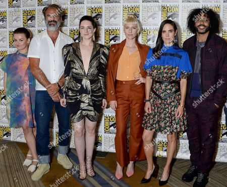 Alison Wright, Lena Hall, Mickey Sumner, Jennifer Connelly and Daveed Diggs
