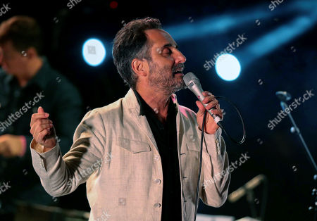 Jorge Drexler performs on stage during the 2019 Pirineos Sur International Festival of Cultures in Lanuza, Spain, 20 July 2019. The festival will run from 12 July to 28 July 2019.