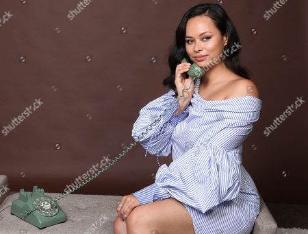 """Frankie Adams poses for a portrait to promote the television series """"The Expanse"""" on day three of Comic-Con International, in San Diego"""