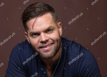 "Wes Chatham poses for a portrait to promote the television series ""The Expanse"" on day three of Comic-Con International, in San Diego"