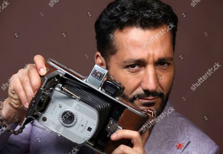 """Cas Anvar poses for a portrait to promote the television series """"The Expanse"""" on day three of Comic-Con International, in San Diego"""