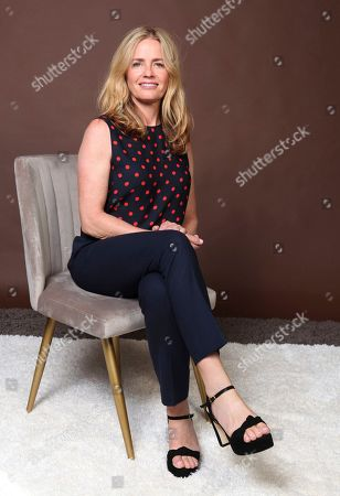 """Stock Photo of Elisabeth Shue poses for a portrait to promote the television series """"The Boys"""" on day three of Comic-Con International, in San Diego"""