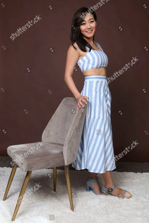 "Stock Picture of Karen Fukuhara poses for a portrait to promote the television series ""The Boys"" on day three of Comic-Con International, in San Diego"