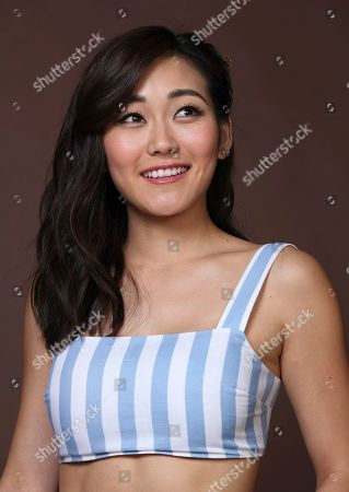 "Karen Fukuhara poses for a portrait to promote the television series ""The Boys"" on day three of Comic-Con International, in San Diego"
