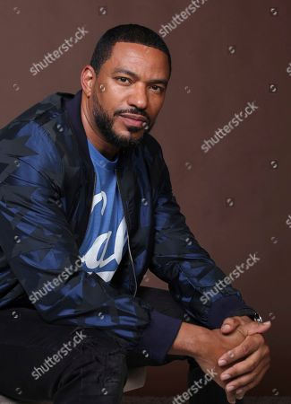 """Laz Alonso poses for a portrait to promote the television series """"The Boys"""" on day three of Comic-Con International, in San Diego"""