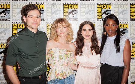 Editorial image of 'Impulse' TV show photocall, Comic-Con International, San Diego, USA - 20 Jul 2019