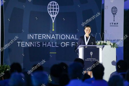 Editorial picture of Hall of Fame Tennis, Newport, USA - 20 Jul 2019