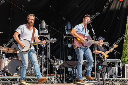 Editorial image of Country Thunder Music Festival, Day 3, Twin Lakes, Wisconsin, USA - 19 Jul 2019