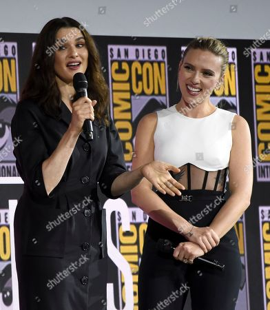 Editorial picture of 2019 Comic-Con - Marvel Studios, San Diego, USA - 20 Jul 2019