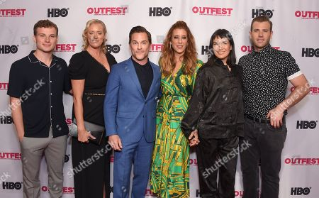 Stock Picture of Christopher Gray, Mandy Ward, Mike Doyle, Kate Walsh, Zoe Chao and Scott Evans