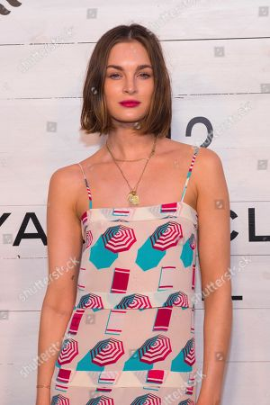 Laura Love attends Chanel's J12 Yacht Club dinner event at Sunset Beach, in Shelter Island, NY