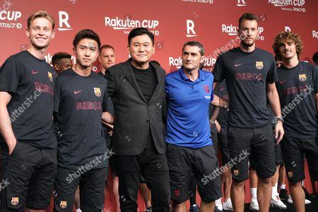 Editorial photo of Soccer Barcelona Chelsea, Tokyo, Japan - 21 Jul 2019