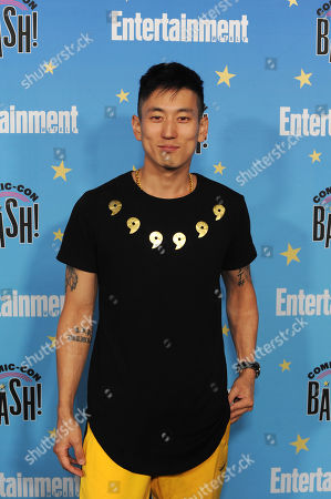 Jake Choi poses for photographs during a red carpet reception at the Entertainment Weekly Comic-Con Bash party in San Diego, California, USA, 20 July 2019 (Issued 22 Juyly 2019).