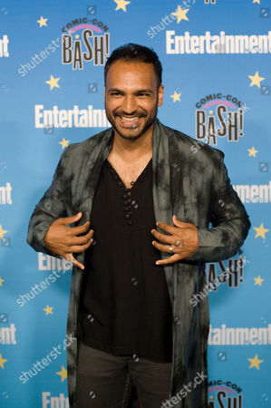 Arjun Gupta poses for photographs during a red carpet reception at the Entertainment Weekly Comic-Con Bash party in San Diego, California, USA, 20 July 2019 (Issued 22 Juyly 2019).