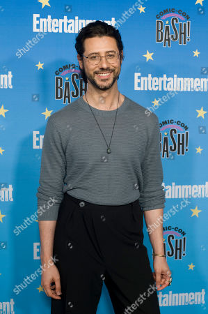 Stock Photo of Hale Appleman poses for photographs during a red carpet reception at the Entertainment Weekly Comic-Con Bash party in San Diego, California, USA, 20 July 2019 (Issued 22 Juyly 2019).