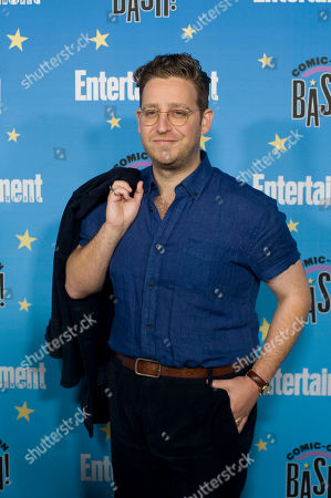 Stock Picture of Trevor Einhorn poses for photographs during a red carpet reception at the Entertainment Weekly Comic-Con Bash party in San Diego, California, USA, 20 July 2019 (Issued 22 Juyly 2019).