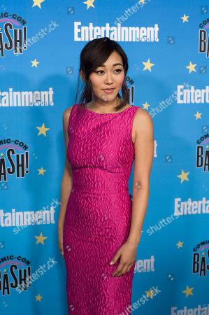 Stock Photo of Karen Fukuhara poses for photographs during a red carpet reception at the Entertainment Weekly Comic-Con Bash party in San Diego, California, USA, 20 July 2019 (Issued 22 Juyly 2019).
