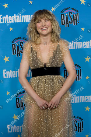 Maddie Hasson poses for photographs during a red carpet reception at the Entertainment Weekly Comic-Con Bash party in San Diego, California, USA, 20 July 2019 (Issued 22 Juyly 2019).