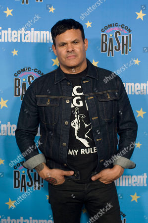 Elgin James poses for photographs during a red carpet reception at the Entertainment Weekly Comic-Con Bash party in San Diego, California, USA, 20 July 2019 (Issued 22 Juyly 2019).