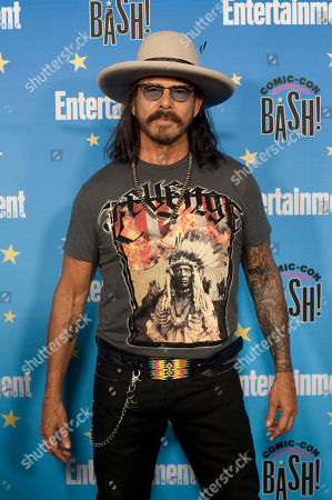 Raoul Trujillo poses for photographs during a red carpet reception at the Entertainment Weekly Comic-Con Bash party in San Diego, California, USA, 20 July 2019 (Issued 22 Juyly 2019).