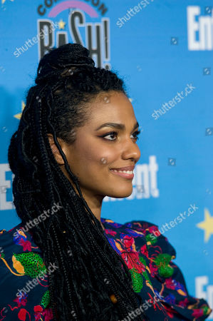 Freema Agyeman poses for photographs during a red carpet reception at the Entertainment Weekly Comic-Con Bash party in San Diego, California, USA, 20 July 2019 (Issued 22 Juyly 2019).