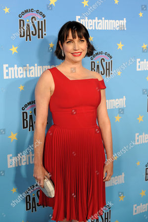 Julie Ann Emery poses for photographs during a red carpet reception at the Entertainment Weekly Comic-Con Bash party in San Diego, California, USA, 20 July 2019 (Issued 22 Juyly 2019).