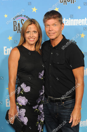 Rob Liefeld and Joy Creel pose for photographs during a red carpet reception at the Entertainment Weekly Comic-Con Bash party in San Diego, California, USA, 20 July 2019 (Issued 22 Juyly 2019).