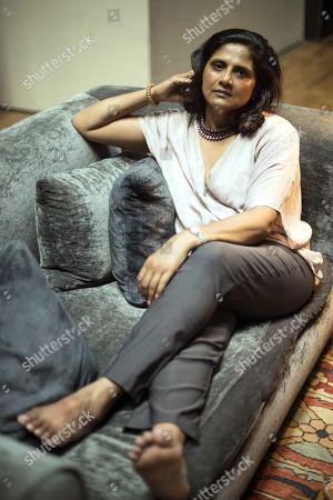 Editorial photo of Priyamvada Natarajan interview in Barcelona, Spain - 21 Jul 2019