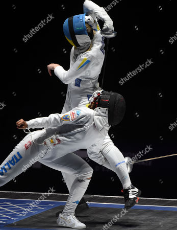 Editorial photo of FIE World Fencing Championships in Budapest, Hungary - 21 Jul 2019