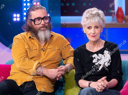 Andy Nyman and Anita Dobson