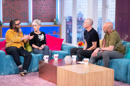 Andy Nyman and Anita Dobson with Tim Lovejoy and Simon Rimmer