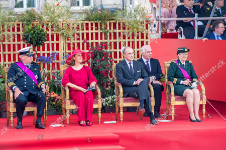 Prince Laurent, Princess Claire, Princess Astrid and Prince Lorenz