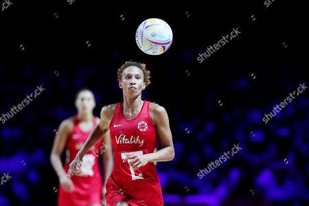 Serena Guthrie of England