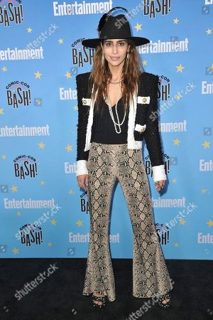 Nadia Hilker attends the Entertainment Weekly party at the Hard Rock Hotel on day three of Comic-Con International, in San Diego