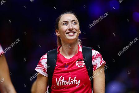 Jade Clarke of England.