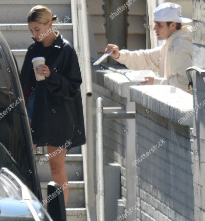 Editorial picture of Justin Bieber and Hailey Rhode Baldwin out and about, Los Angeles, USA - 21 Jul 2019