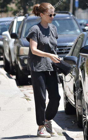 Editorial picture of Kate Mara and family out and about, Los Angeles, USA - 20 Jul 2019