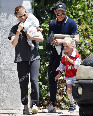 Editorial photo of Kate Mara and family out and about, Los Angeles, USA - 20 Jul 2019