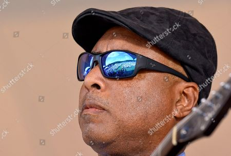 Former New York Yankees player Bernie Williams performs during a National Baseball Hall of Fame induction ceremony at the Clark Sports Center, in Cooperstown, N.Y