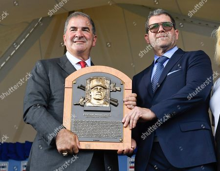 Editorial photo of Hall of Fame Inductions Baseball, Cooperstown, USA - 21 Jul 2019
