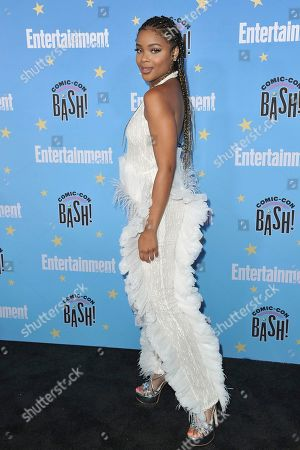 Ajiona Alexus attends the Entertainment Weekly party at the Hard Rock Hotel on day three of Comic-Con International, in San Diego