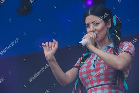 Editorial photo of Latitude Festival, day 3, Southwold, UK  - 20 Jul 2019