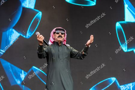 Stock Photo of Omar Souleyman